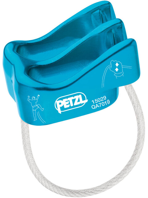 Petzl Verso Belay Blue